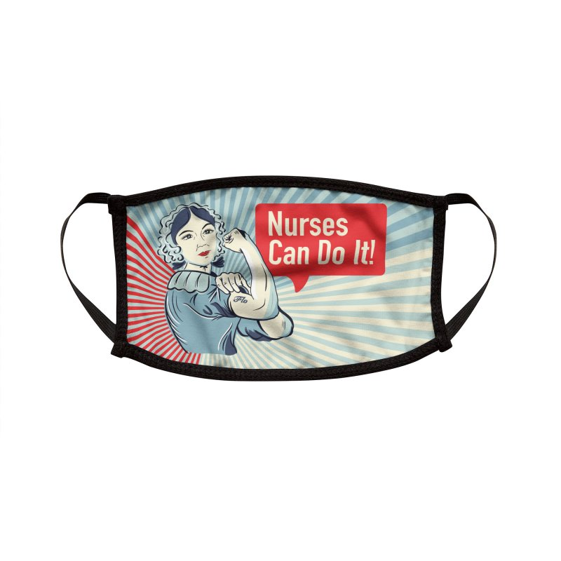 Nurses Can Do It! Accessories Face Mask by ENA Together