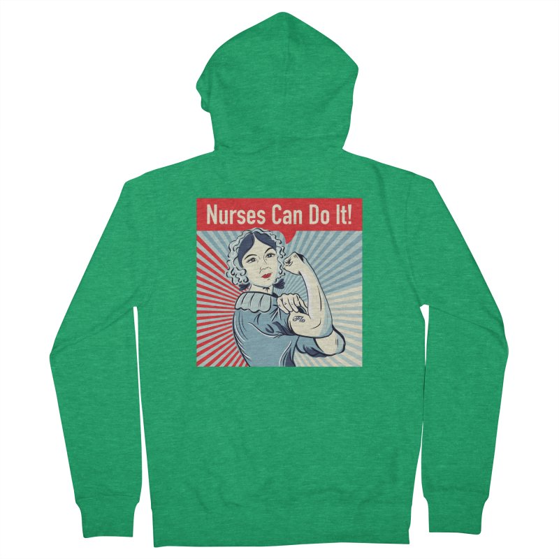 Nurses Can Do It! Men's Zip-Up Hoody by ENA Together