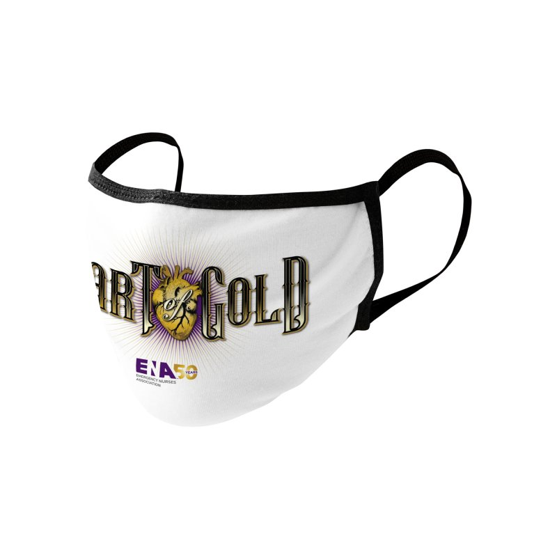 Emergency Nurses Week 2020 - Heart of Gold Accessories Face Mask by ENA Together