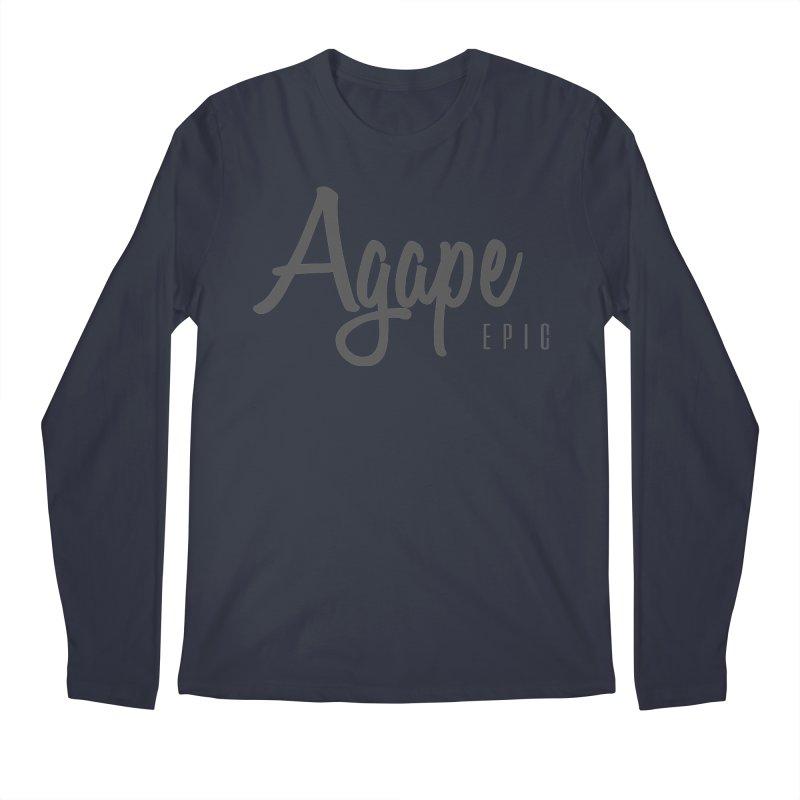 Agape Men's Regular Longsleeve T-Shirt by EPICtheBand's Artist Shop