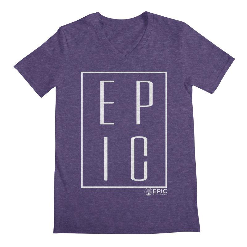 EPIC Men's Regular V-Neck by EPICtheBand's Artist Shop