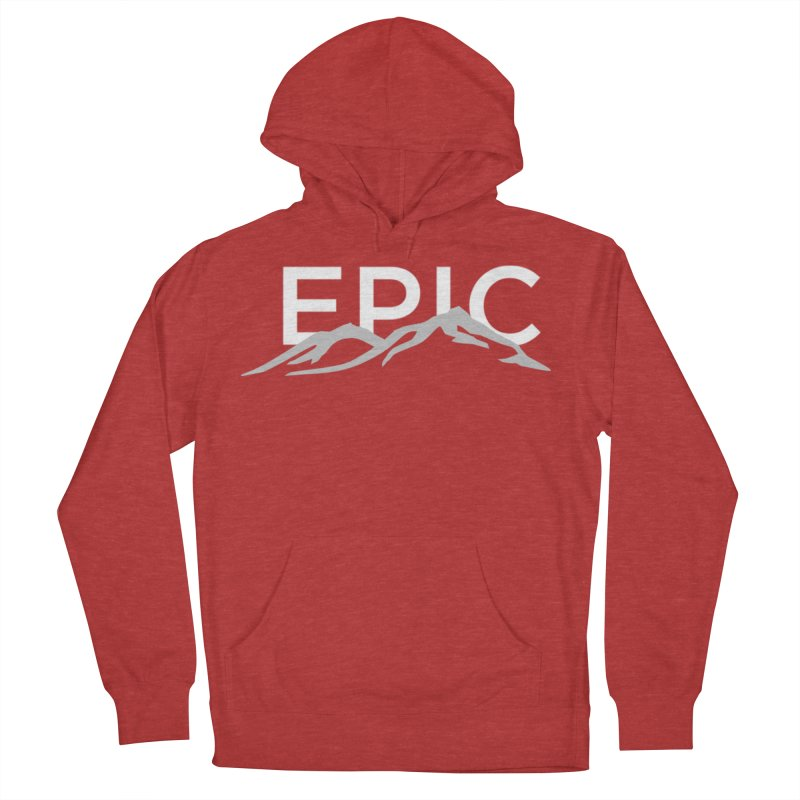 Mountain Women's French Terry Pullover Hoody by EPICtheBand's Artist Shop