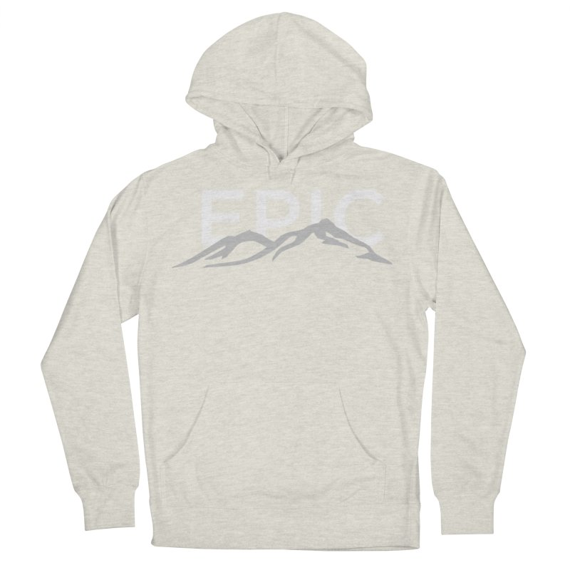 Mountain Men's French Terry Pullover Hoody by EPICtheBand's Artist Shop