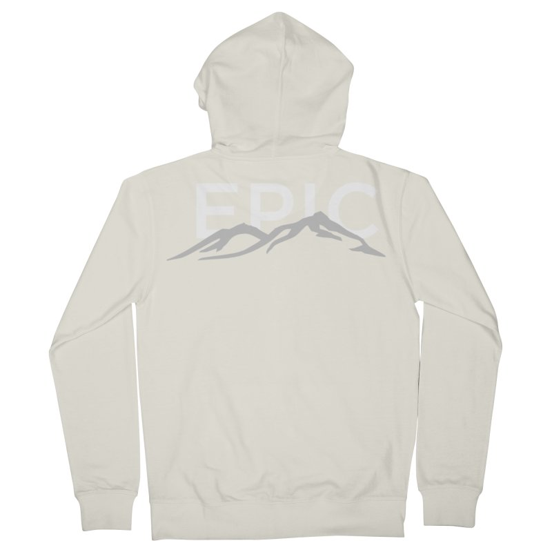 Mountain Women's French Terry Zip-Up Hoody by EPICtheBand's Artist Shop