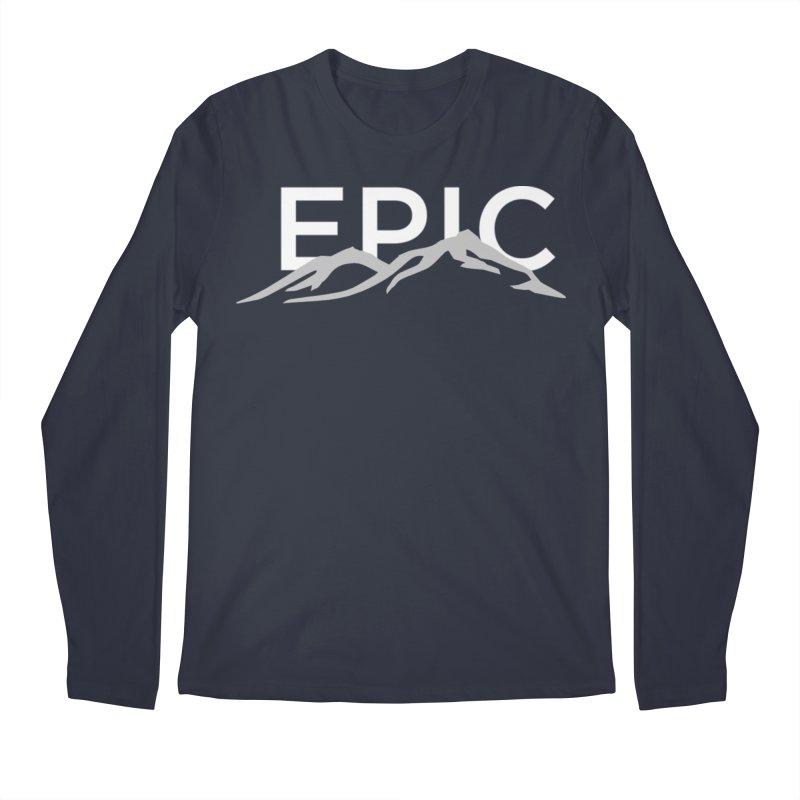 Mountain Men's Regular Longsleeve T-Shirt by EPICtheBand's Artist Shop