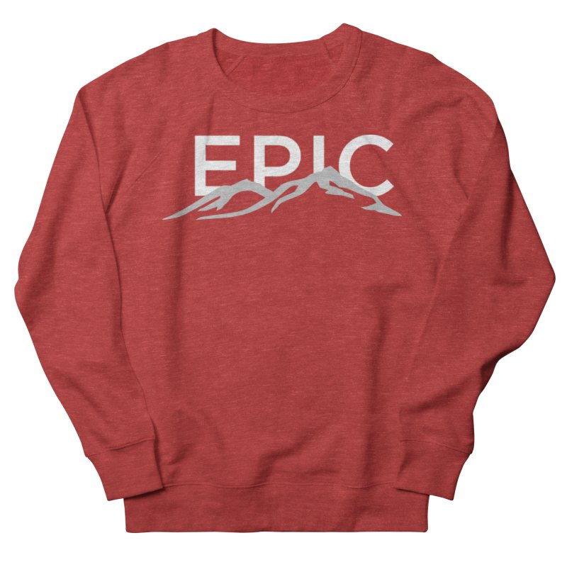Mountain Men's French Terry Sweatshirt by EPICtheBand's Artist Shop