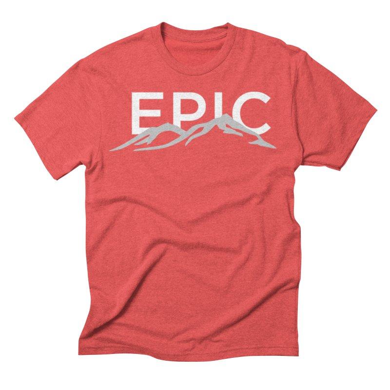 Mountain Men's Triblend T-Shirt by EPICtheBand's Artist Shop
