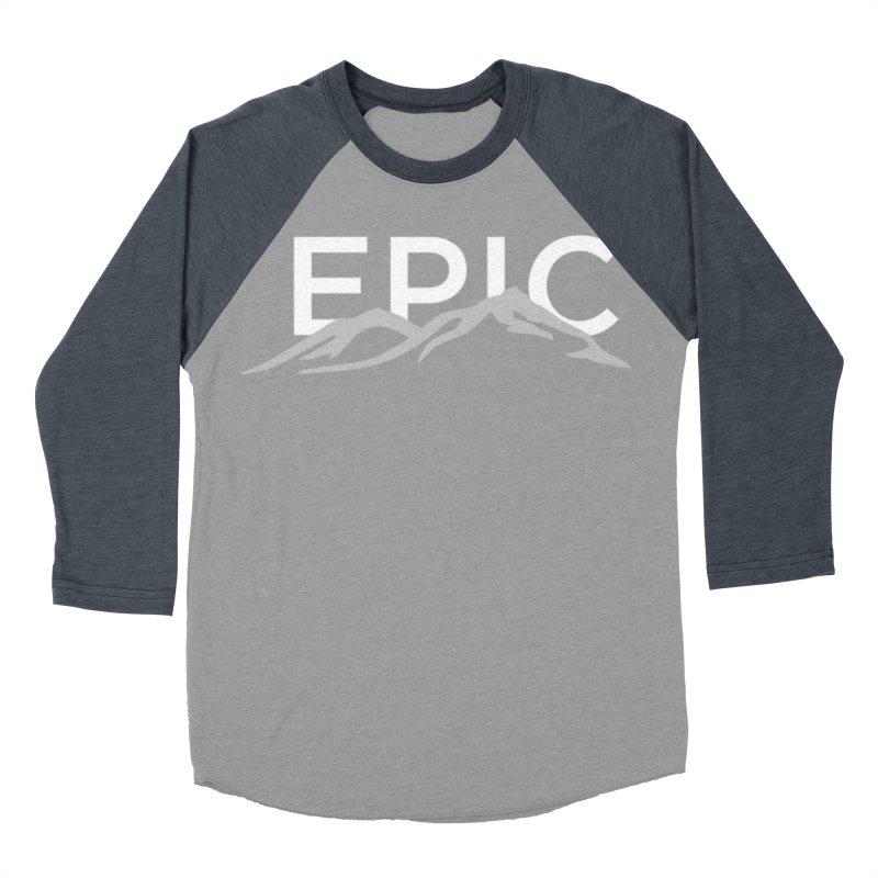 Mountain Men's Baseball Triblend Longsleeve T-Shirt by EPICtheBand's Artist Shop