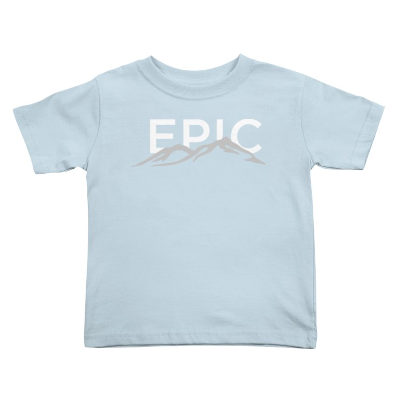 Mountain Kids Toddler T-Shirt by EPICtheBand's Artist Shop