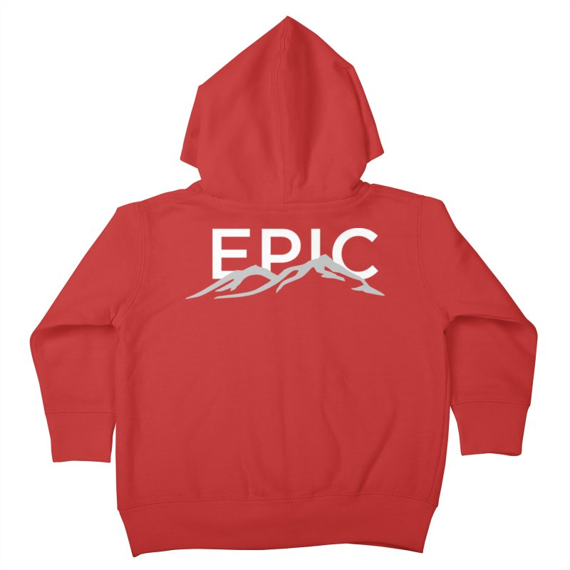 Mountain Kids Toddler Zip-Up Hoody by EPICtheBand's Artist Shop