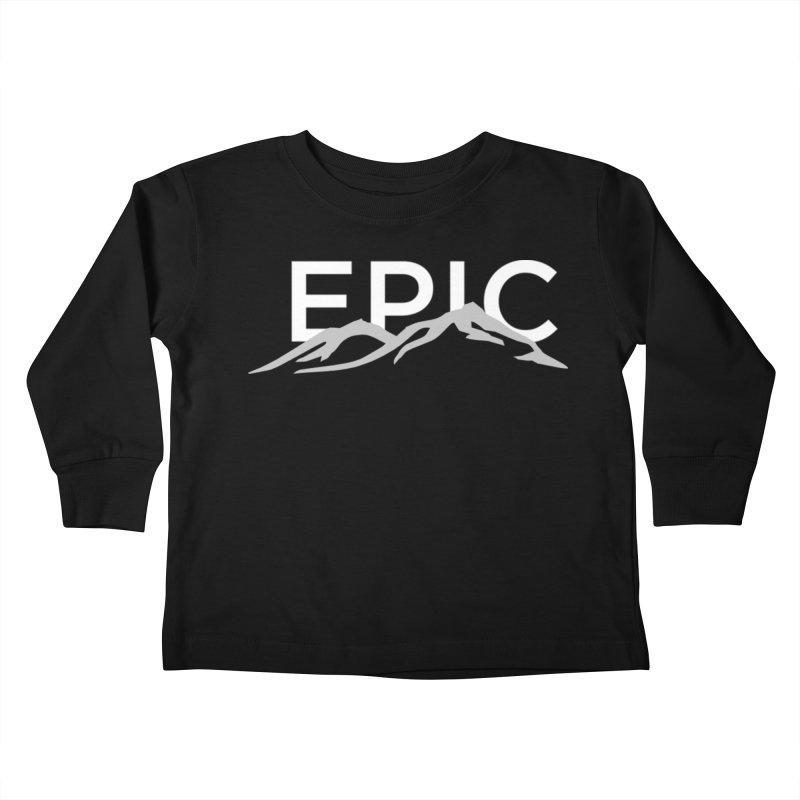 Mountain Kids Toddler Longsleeve T-Shirt by EPICtheBand's Artist Shop