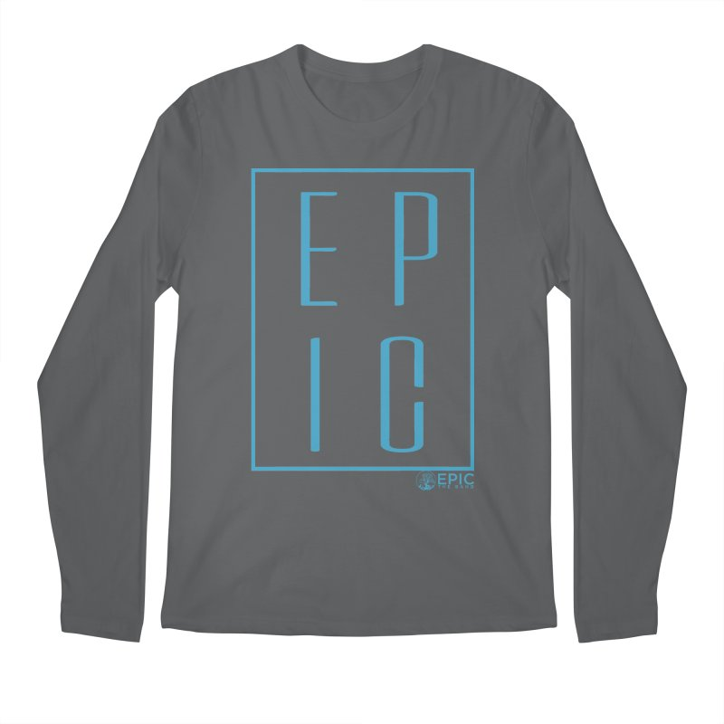 EPIC blue Men's Regular Longsleeve T-Shirt by EPICtheBand's Artist Shop