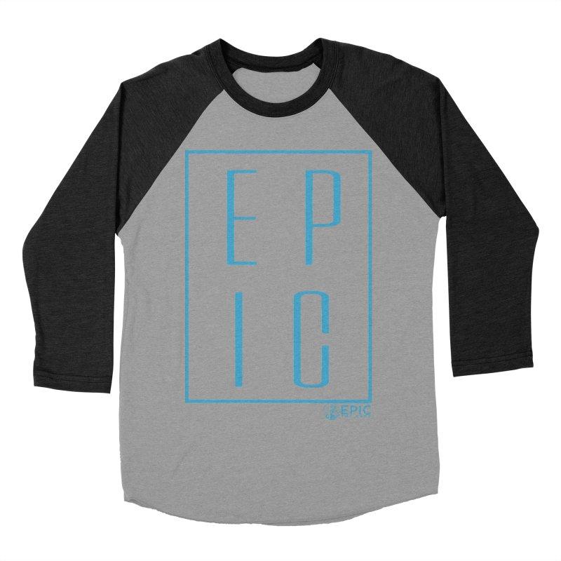 EPIC blue Women's Baseball Triblend Longsleeve T-Shirt by EPICtheBand's Artist Shop