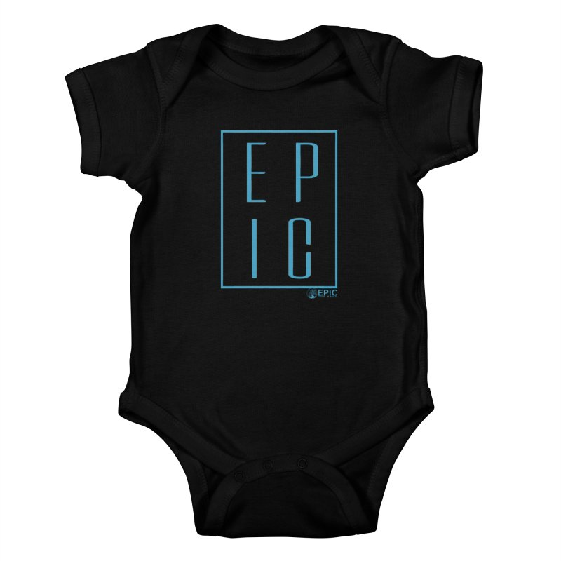 EPIC blue Kids Baby Bodysuit by EPICtheBand's Artist Shop