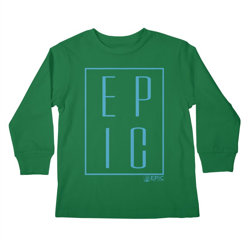 EPIC blue Kids Longsleeve T-Shirt by EPICtheBand's Artist Shop