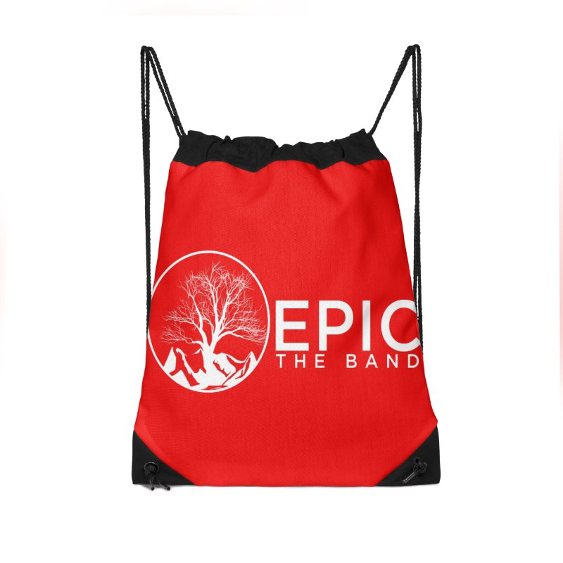 EPIC the Band Accessories Drawstring Bag Bag by EPICtheBand's Artist Shop
