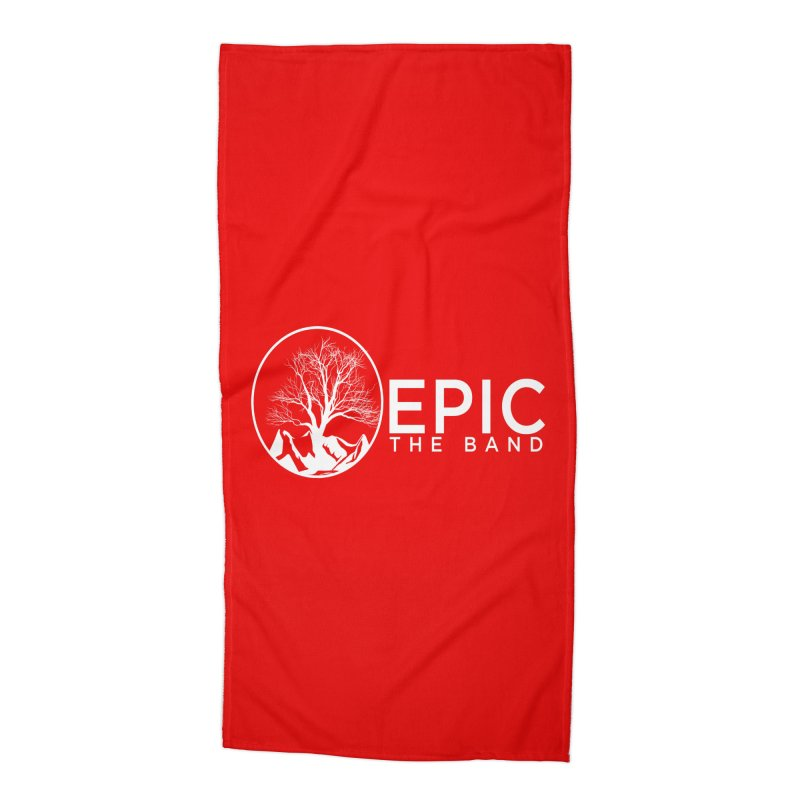 EPIC the Band Accessories Beach Towel by EPICtheBand's Artist Shop