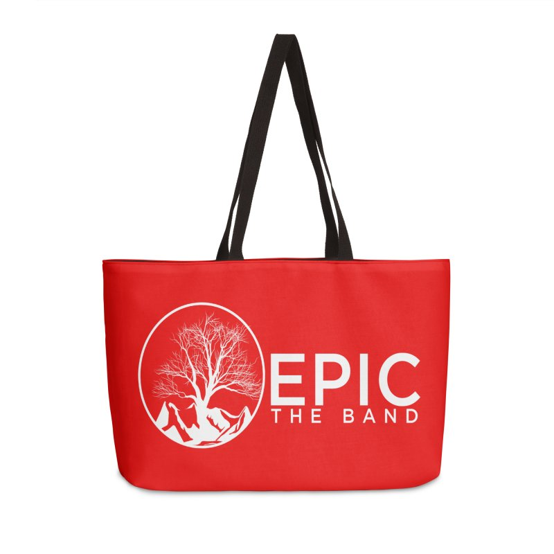 EPIC the Band Accessories Weekender Bag Bag by EPICtheBand's Artist Shop