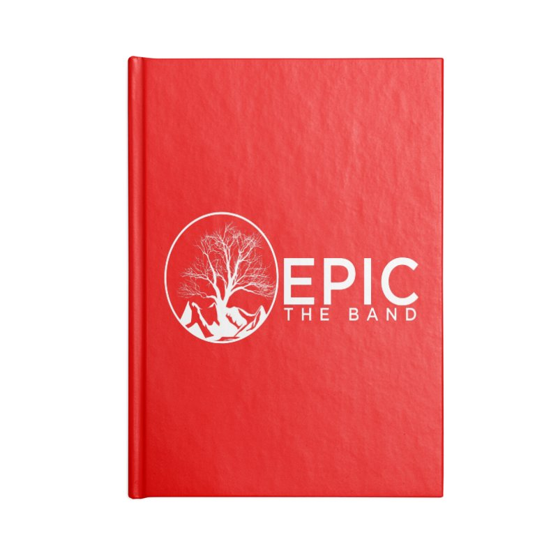EPIC the Band Accessories Lined Journal Notebook by EPICtheBand's Artist Shop