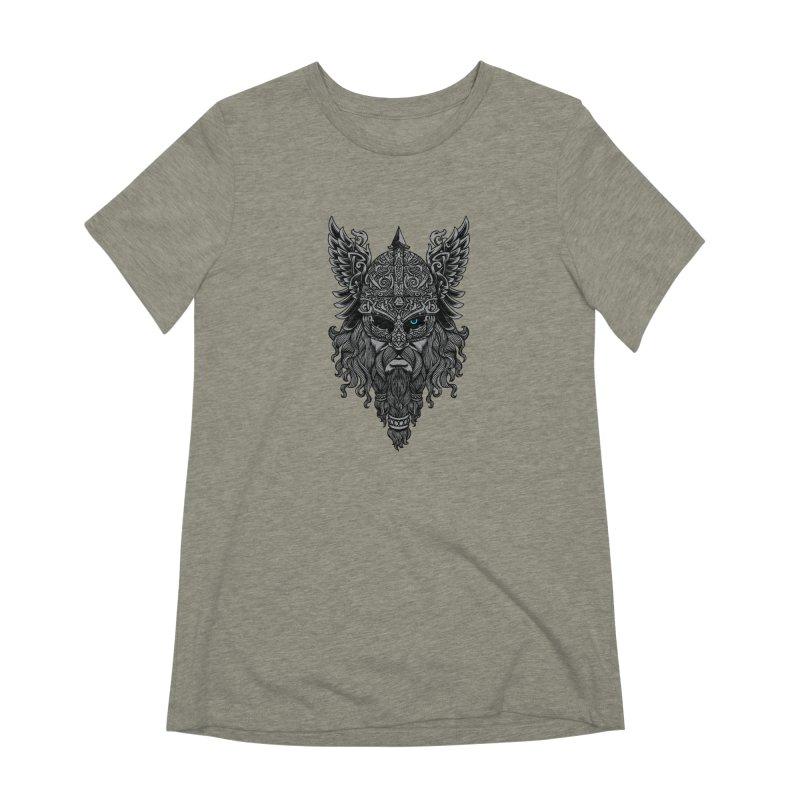 Odin Women's Extra Soft T-Shirt by ES427's Artist Shop