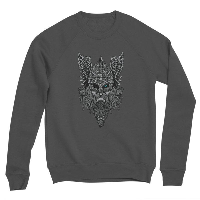 Odin Men's Sponge Fleece Sweatshirt by ES427's Artist Shop