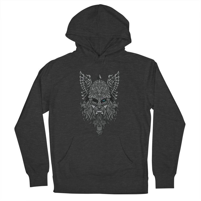Odin Men's French Terry Pullover Hoody by ES427's Artist Shop