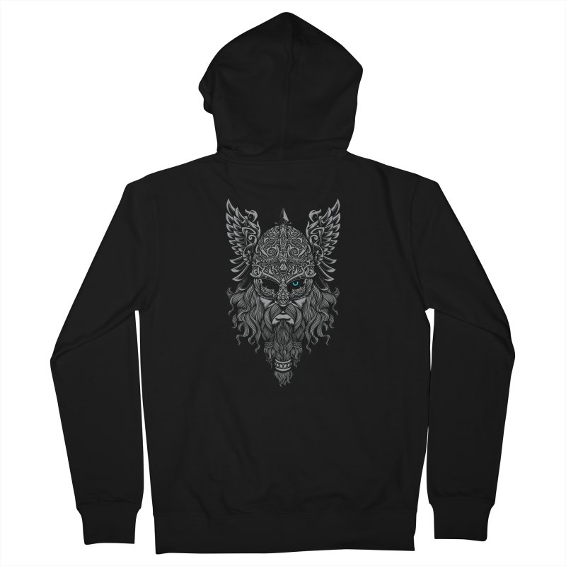 Odin Men's French Terry Zip-Up Hoody by ES427's Artist Shop