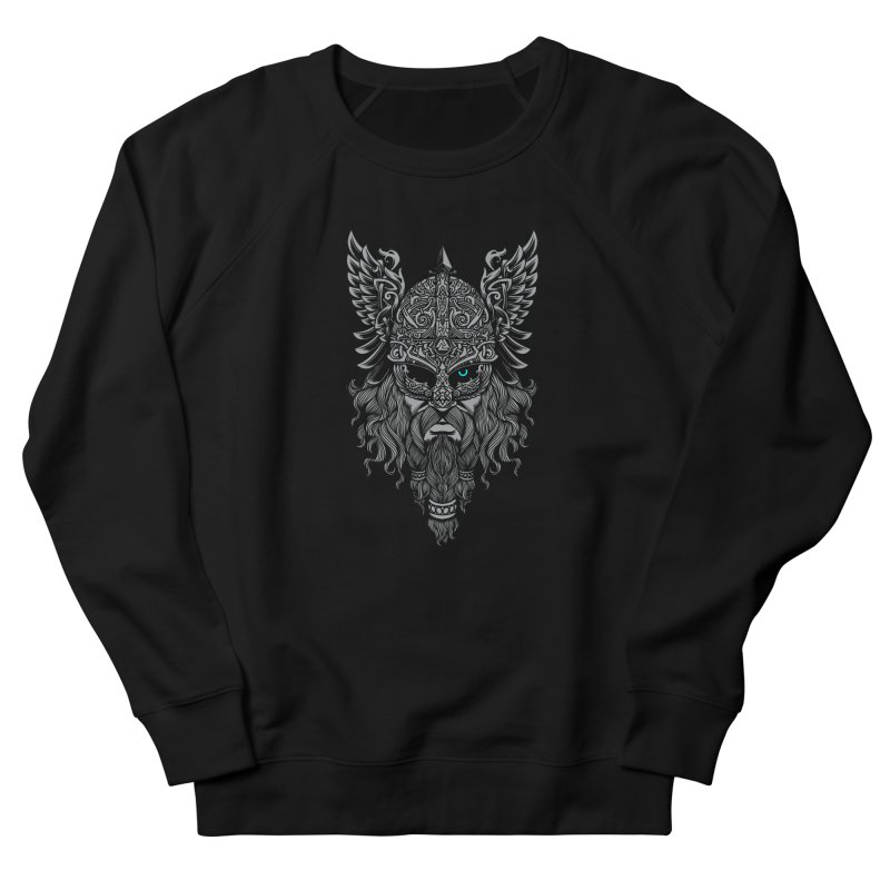 Odin Men's French Terry Sweatshirt by ES427's Artist Shop
