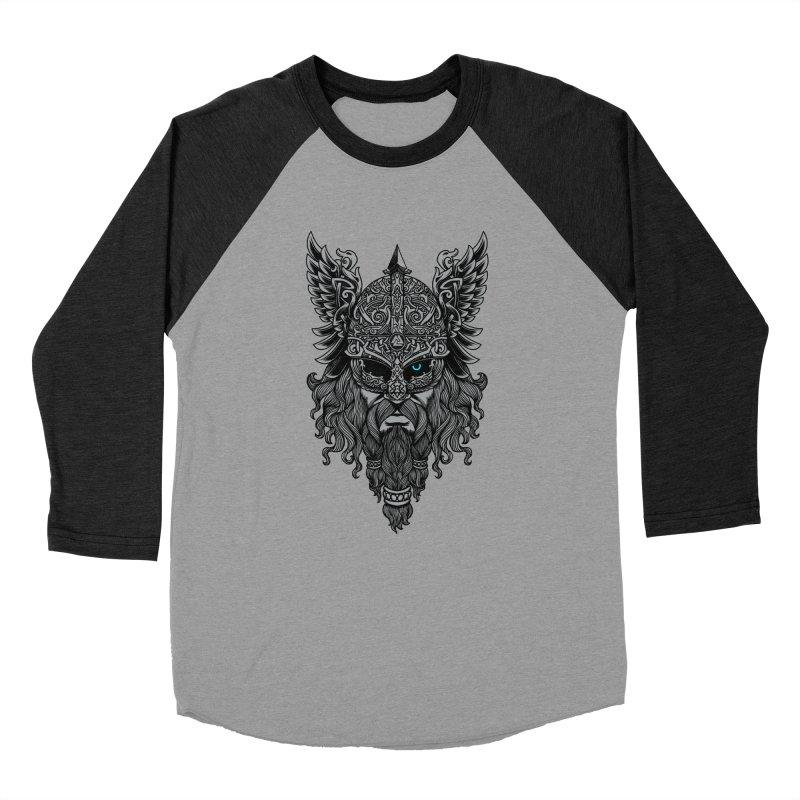 Odin Men's Baseball Triblend Longsleeve T-Shirt by ES427's Artist Shop