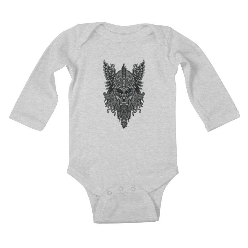 Odin Kids Baby Longsleeve Bodysuit by ES427's Artist Shop