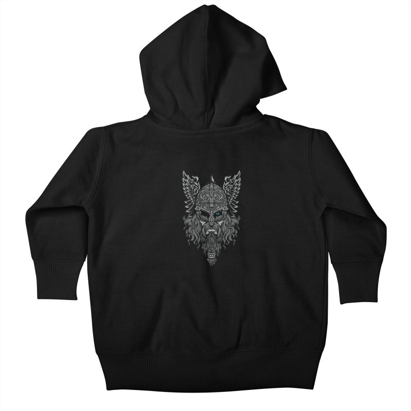 Odin Kids Baby Zip-Up Hoody by ES427's Artist Shop