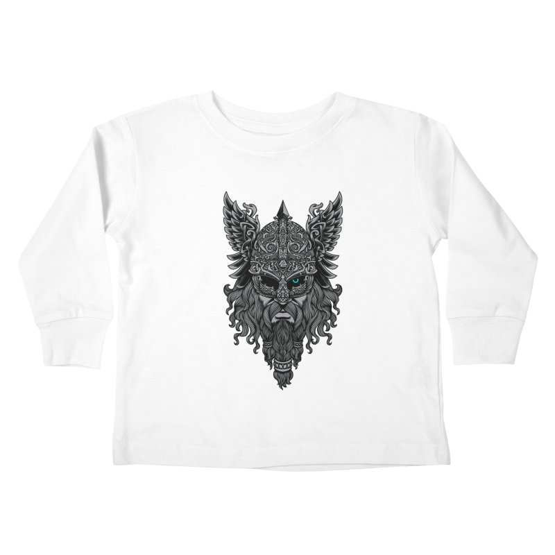 Odin Kids Toddler Longsleeve T-Shirt by ES427's Artist Shop