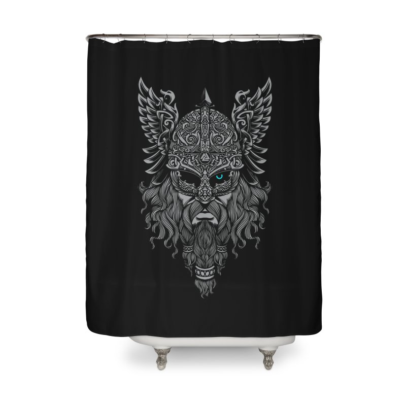 Odin Home Shower Curtain by ES427's Artist Shop