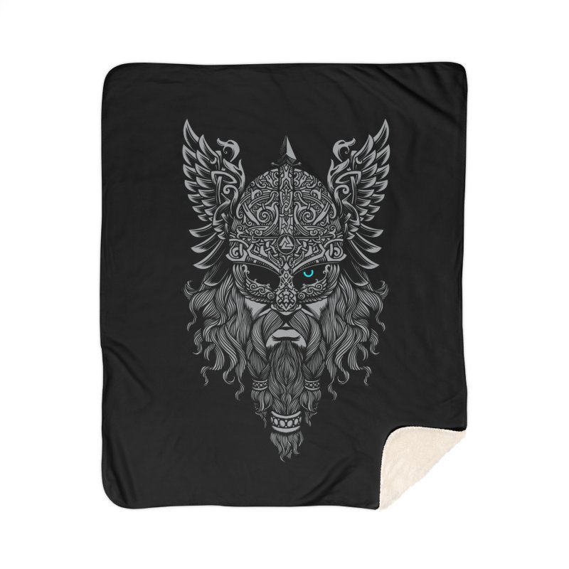 Odin Home Sherpa Blanket Blanket by ES427's Artist Shop