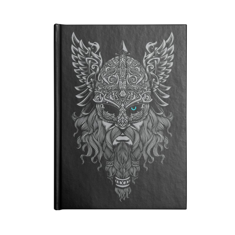 Odin Accessories Blank Journal Notebook by ES427's Artist Shop