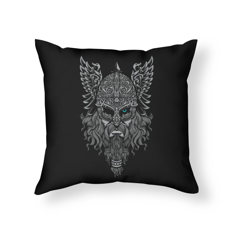 Odin Home Throw Pillow by ES427's Artist Shop