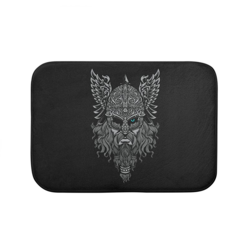 Odin Home Bath Mat by ES427's Artist Shop