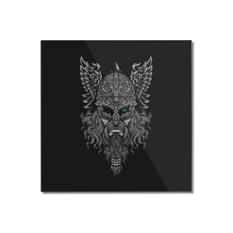 Odin Home Mounted Acrylic Print by ES427's Artist Shop