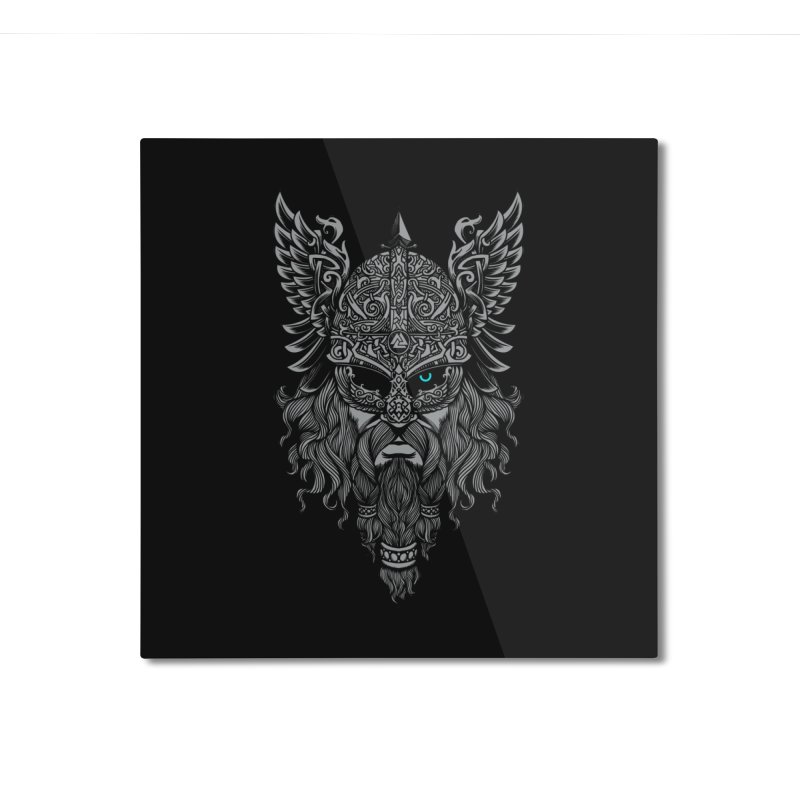 Odin Home Mounted Aluminum Print by ES427's Artist Shop