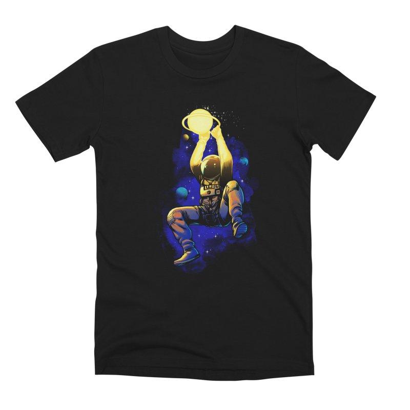 SATURN DUNK Men's Premium T-Shirt by ES427's Artist Shop