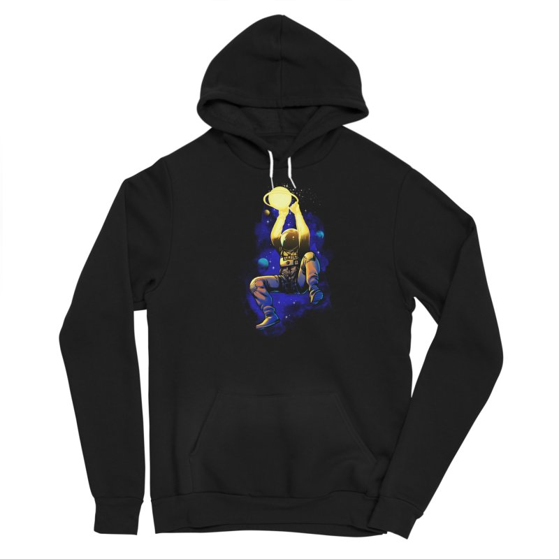 SATURN DUNK Men's Sponge Fleece Pullover Hoody by ES427's Artist Shop