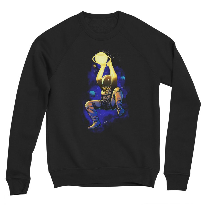 SATURN DUNK Men's Sponge Fleece Sweatshirt by ES427's Artist Shop