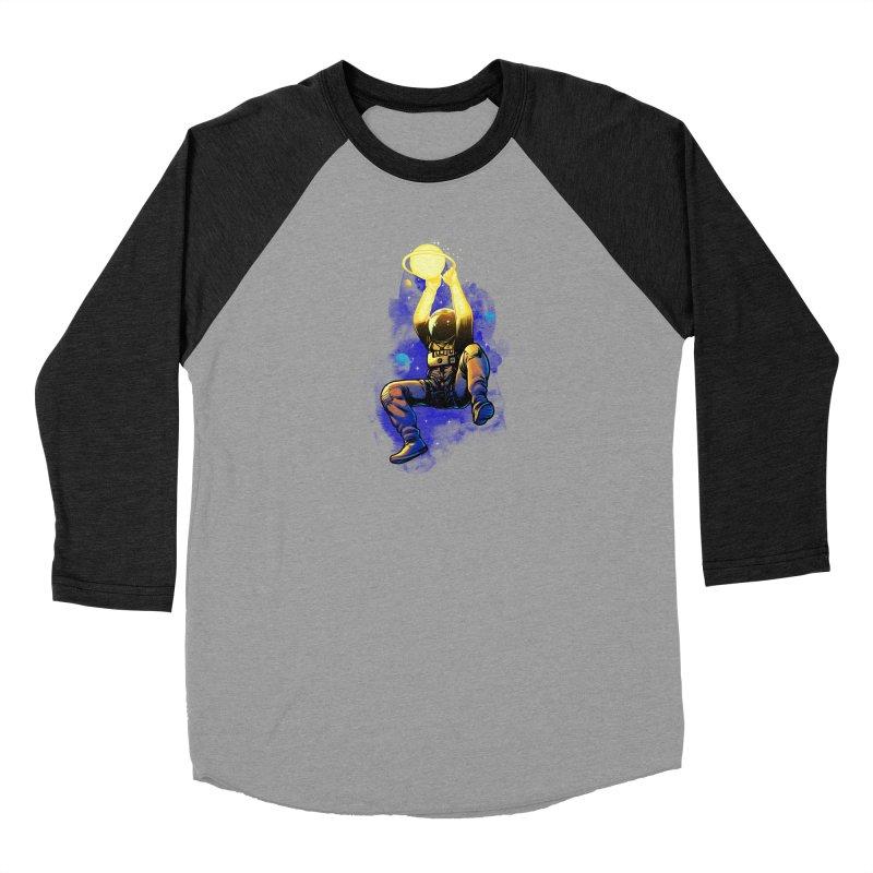 SATURN DUNK Women's Baseball Triblend Longsleeve T-Shirt by ES427's Artist Shop