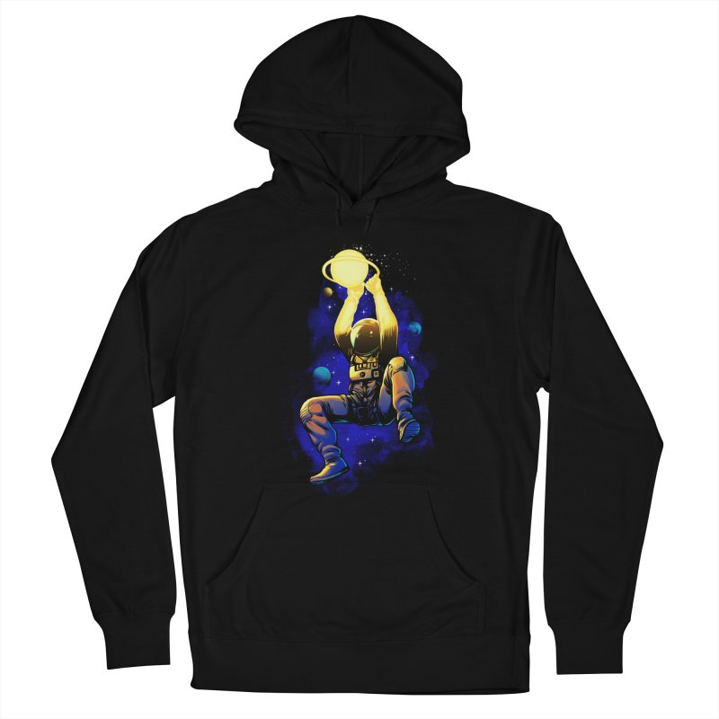 SATURN DUNK Men's French Terry Pullover Hoody by ES427's Artist Shop