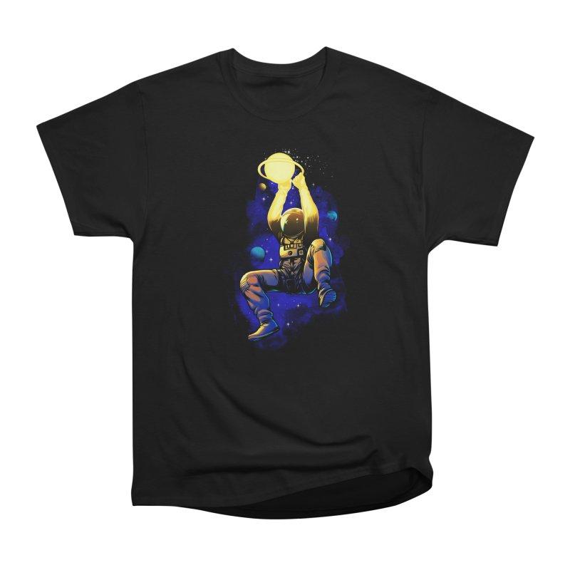 SATURN DUNK Women's Heavyweight Unisex T-Shirt by ES427's Artist Shop
