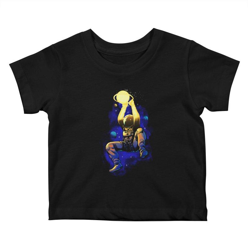 SATURN DUNK Kids Baby T-Shirt by ES427's Artist Shop