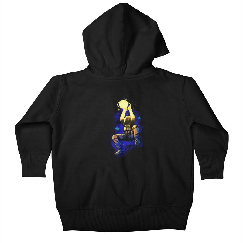 SATURN DUNK Kids Baby Zip-Up Hoody by ES427's Artist Shop