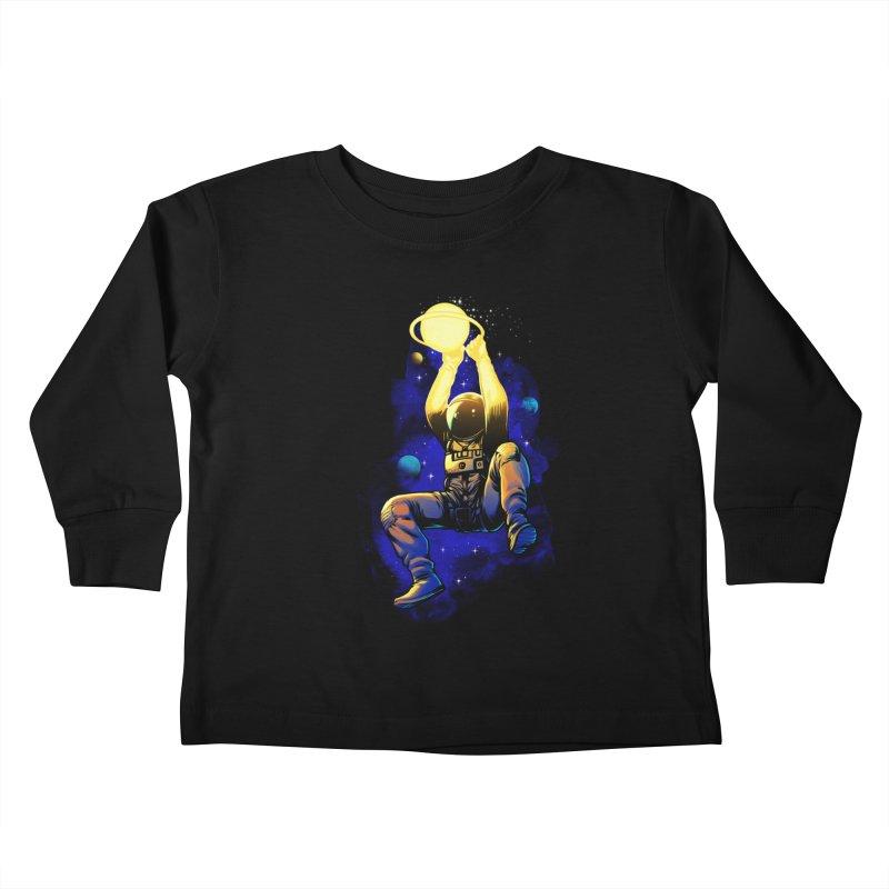 SATURN DUNK Kids Toddler Longsleeve T-Shirt by ES427's Artist Shop