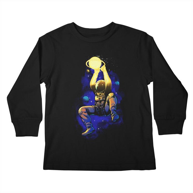 SATURN DUNK Kids Longsleeve T-Shirt by ES427's Artist Shop