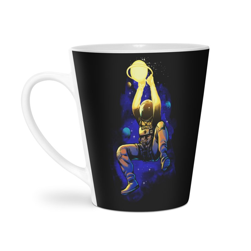 SATURN DUNK Accessories Latte Mug by ES427's Artist Shop